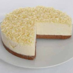 White Chocolate Truffle Cheesecake